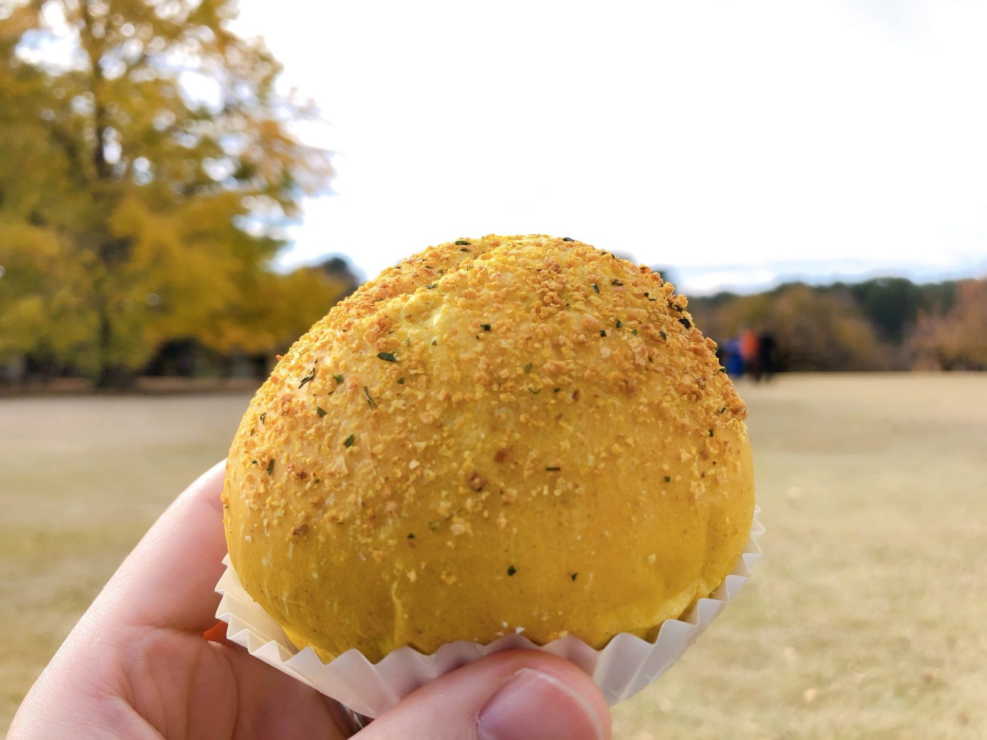 【BOUL'ANGE(ブールアンジュ)新宿】サザンテラス 焼きカレーパン