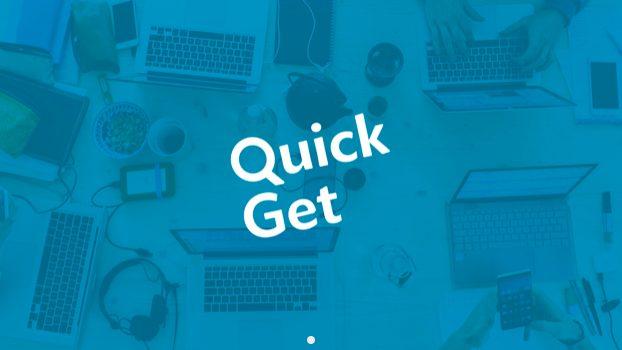 デジタルコンビニ「QuickGet(クイックゲット)」の配達員