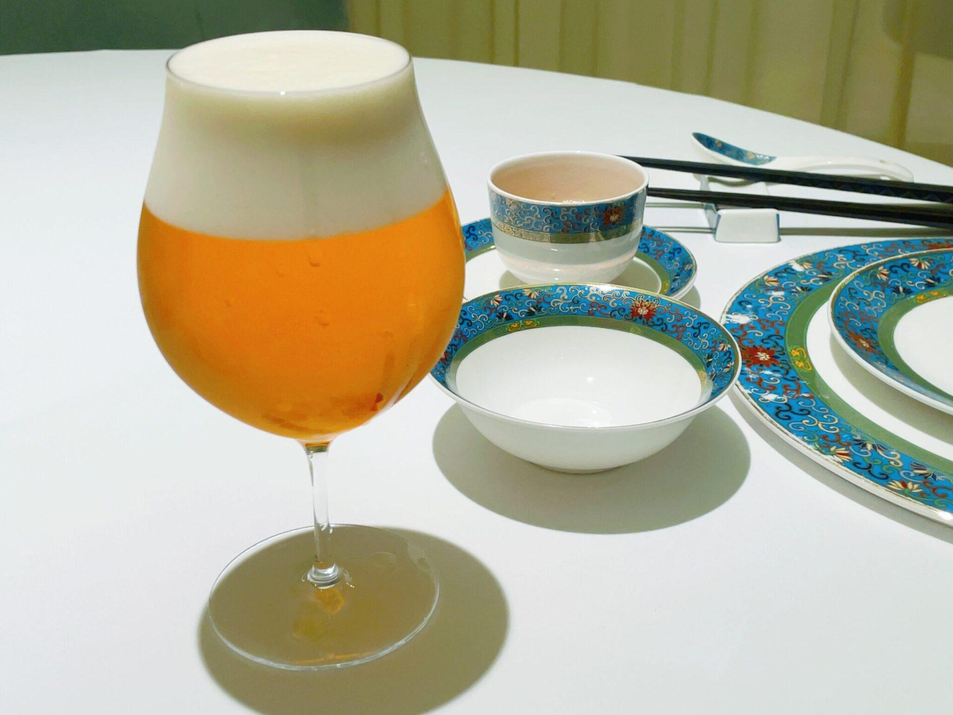 厲家菜(レイカサイ)銀座のビール