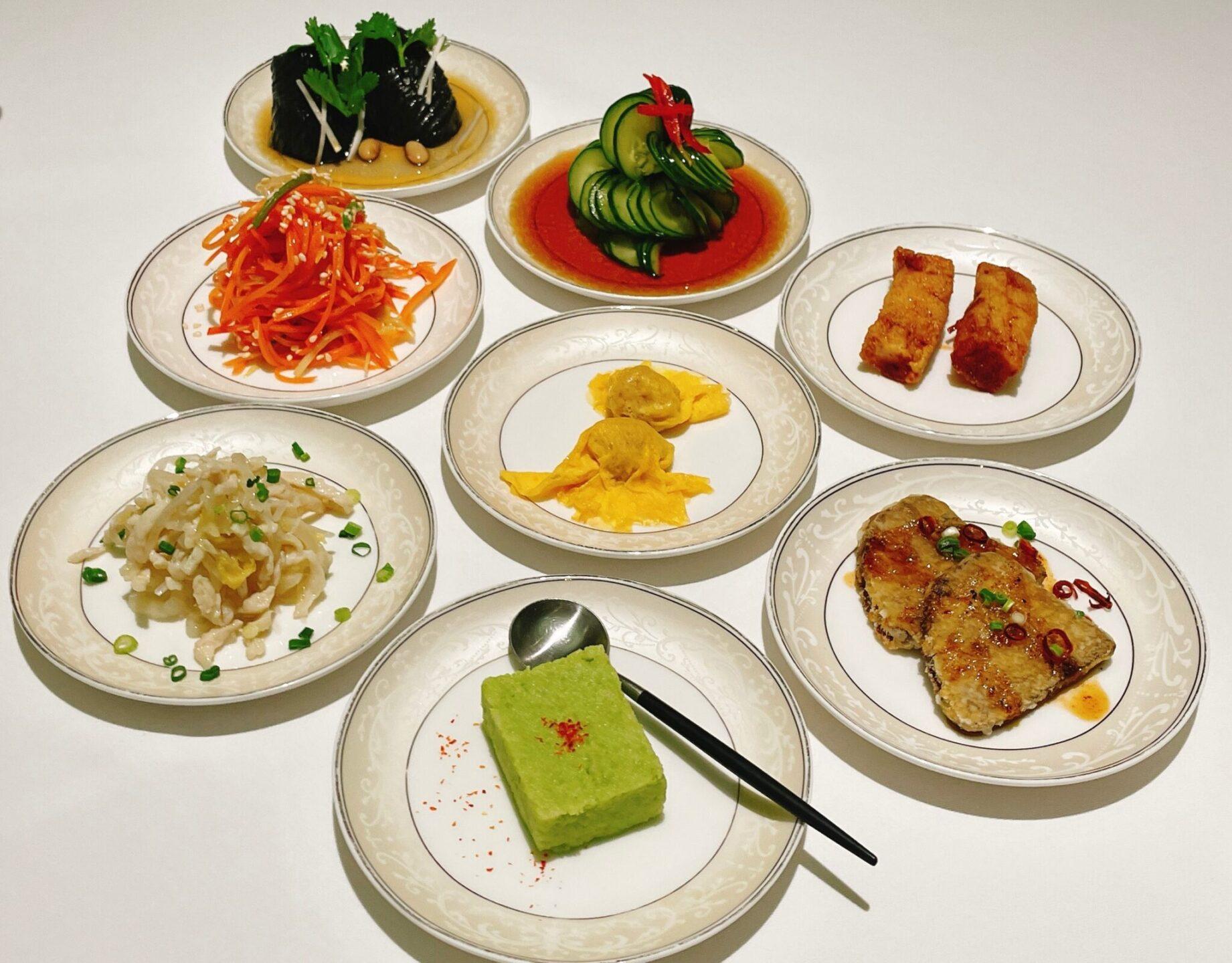 厲家菜(レイカサイ)銀座の前菜