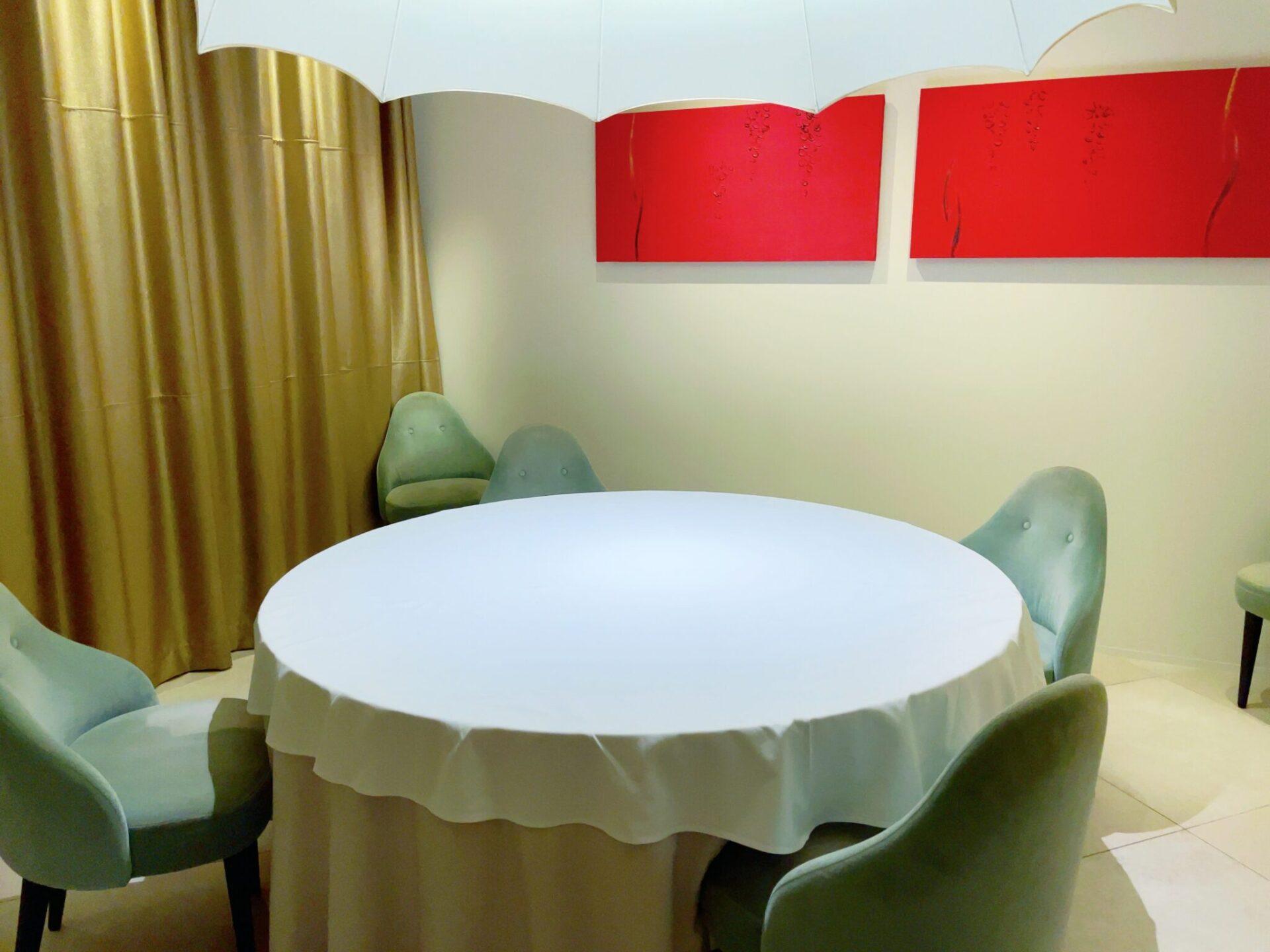 厲家菜(レイカサイ)銀座の個室
