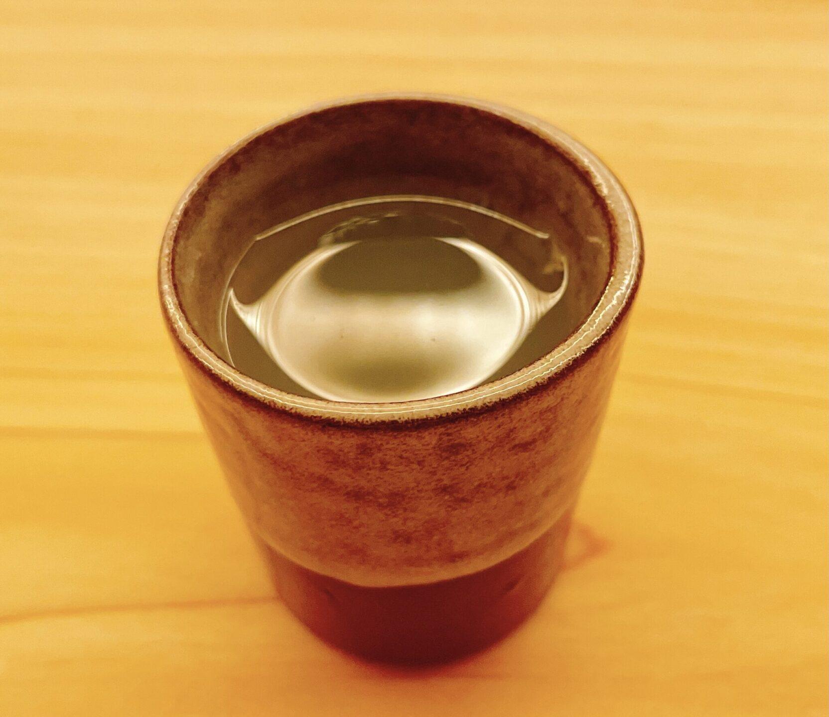 【鮨おにかい+1(たすいち) 中目黒】の牡蠣煮汁