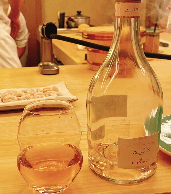 【鮨おにかい+1(たすいち) 中目黒】のワイン