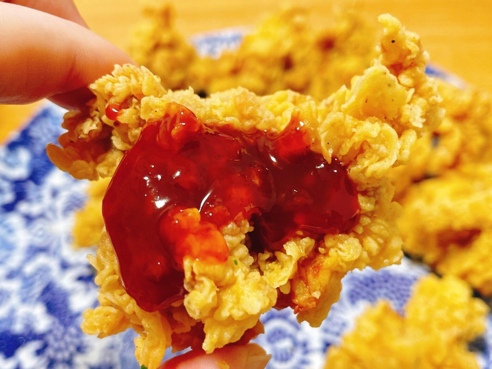 韓国チキンをデリバリーならクリスピーチキンアンドトマト