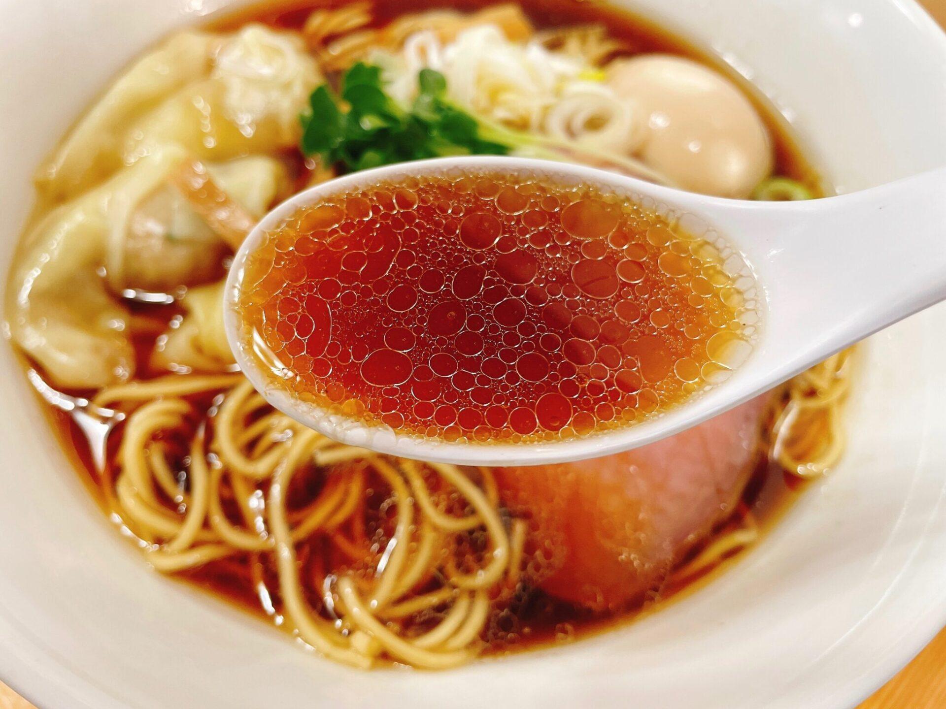 【中華そばこてつ 下北沢】のスープ