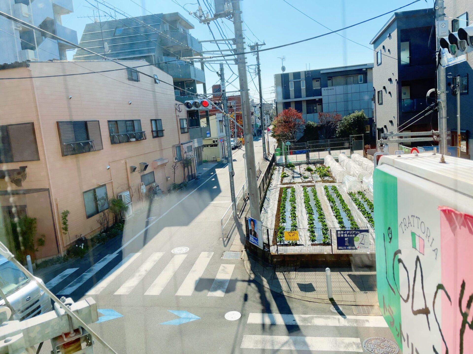 ロアジ 尾山台の窓から見える風景
