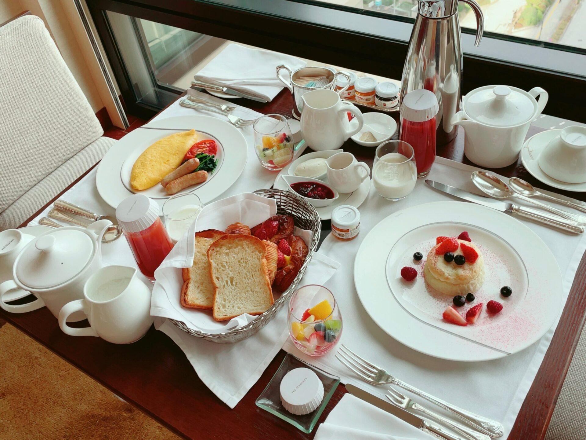 ペニンシュラ東京の朝食