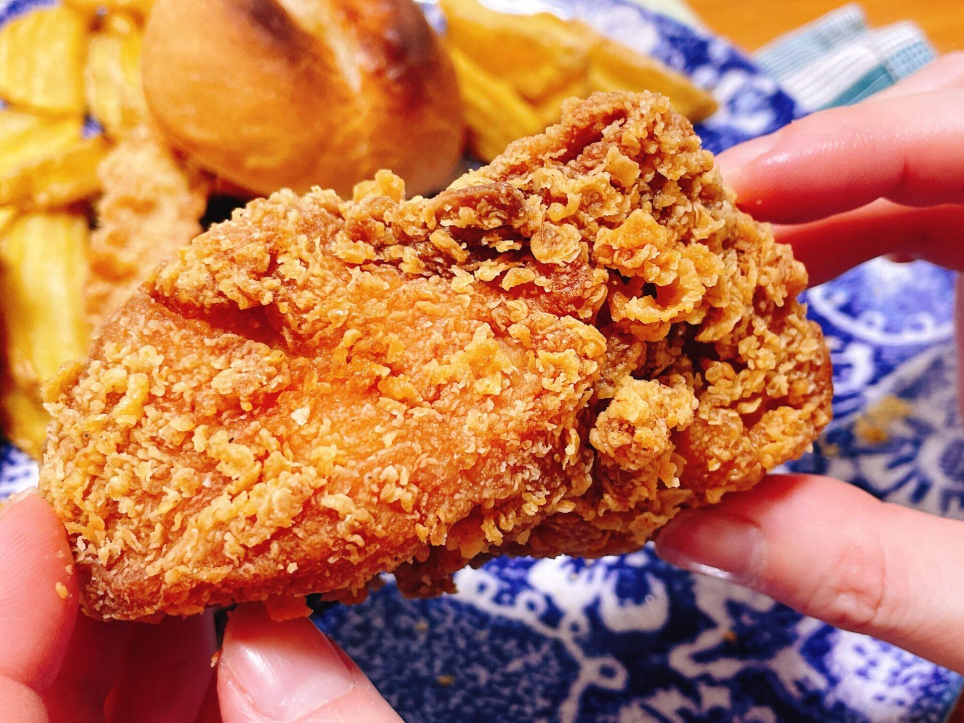 bb.q OLIVE CHICKEN cafeのオリーブチキン