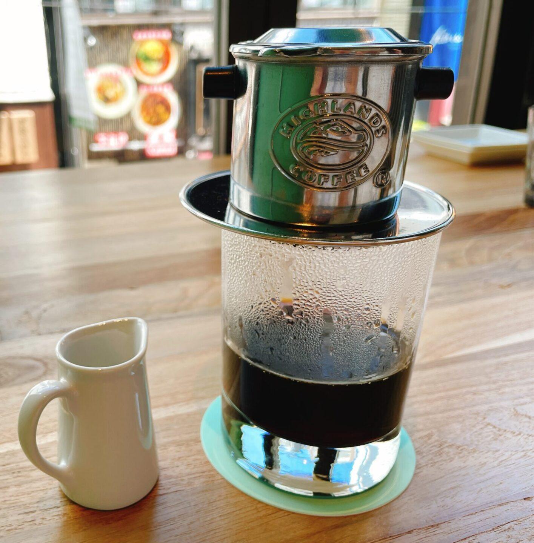 フォーミン 下北沢のフォーミンセット ベトナムコーヒー