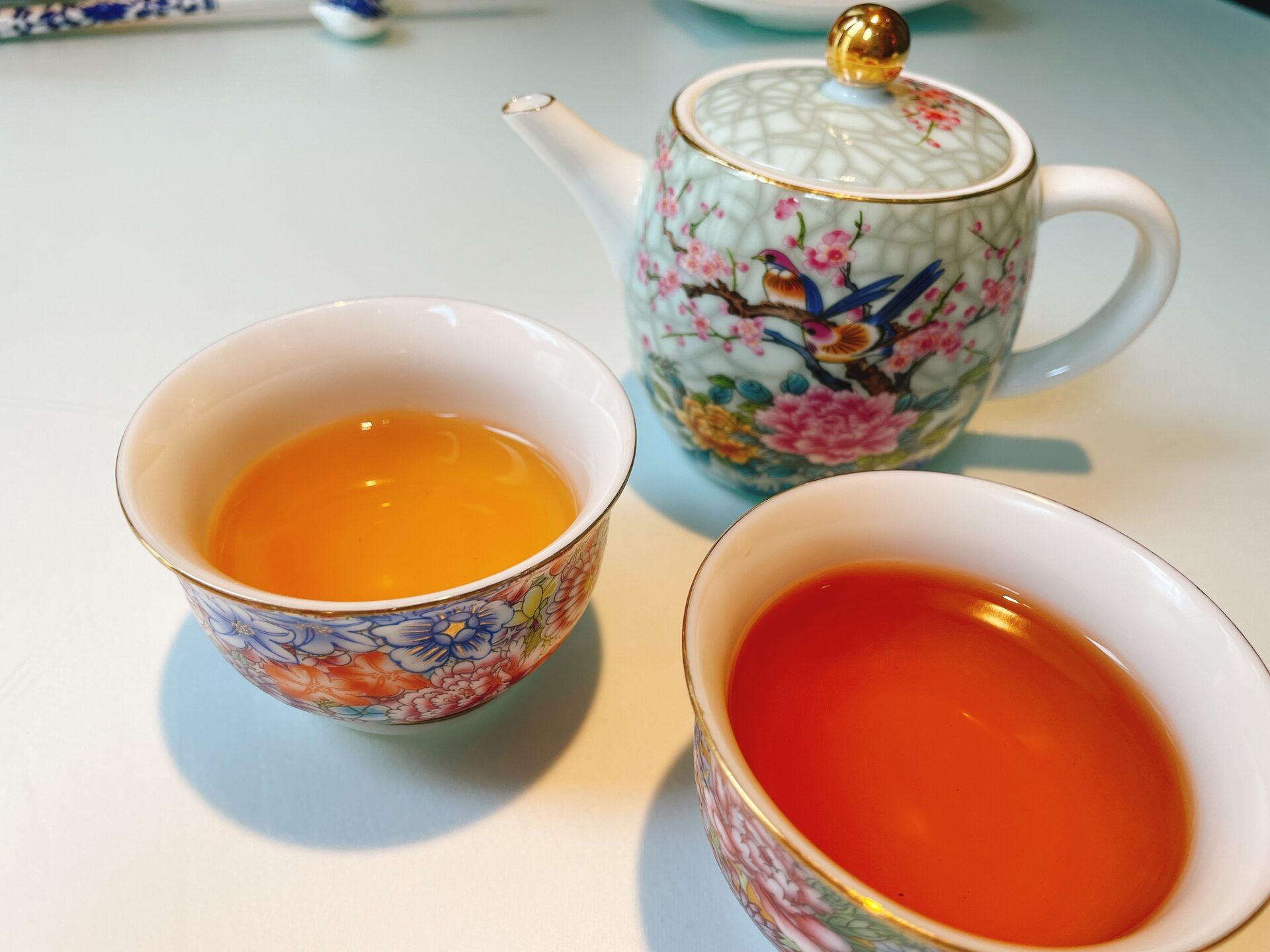 風花雪月 代沢金威の中国茶