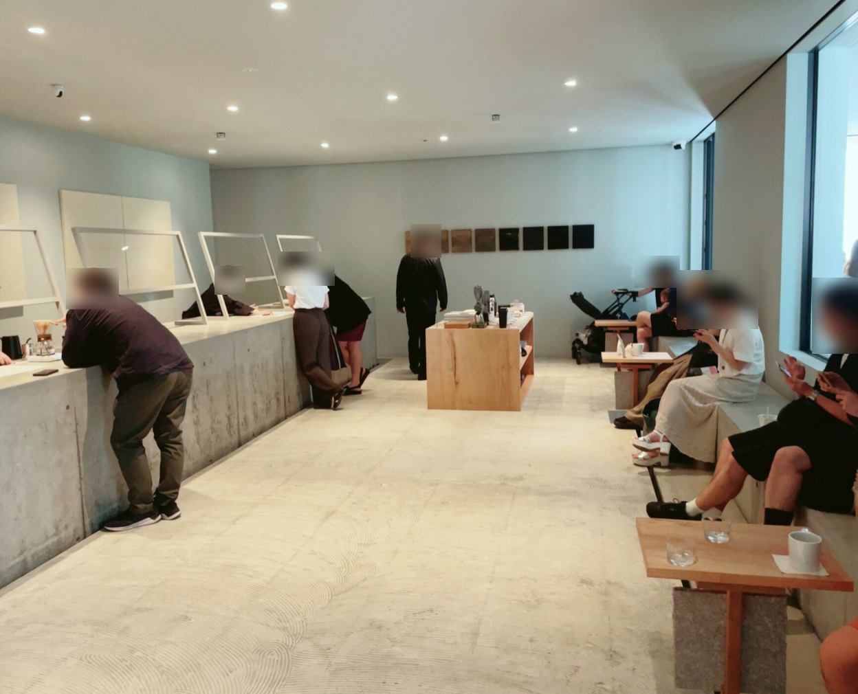 OGAWA COFFEE LABORATORY 下北沢店の店内の様子