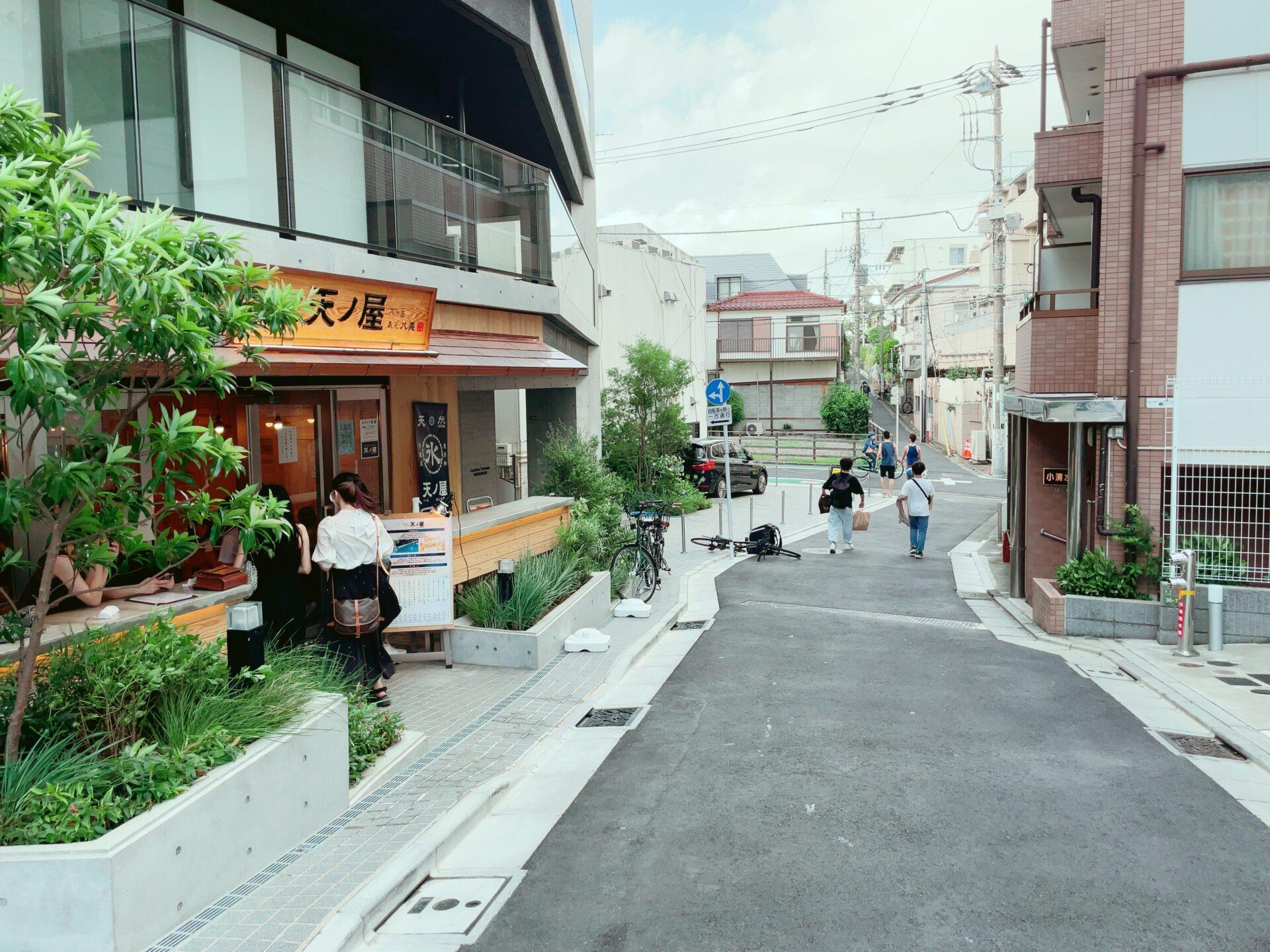 天ノ屋 下北沢本店の外観