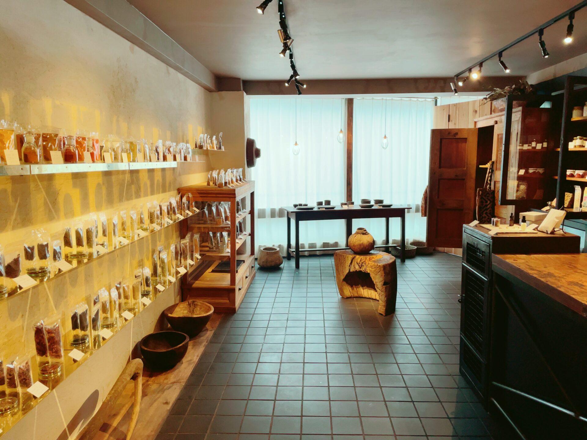 sunya(スンニャ)豪徳寺の看板の店内