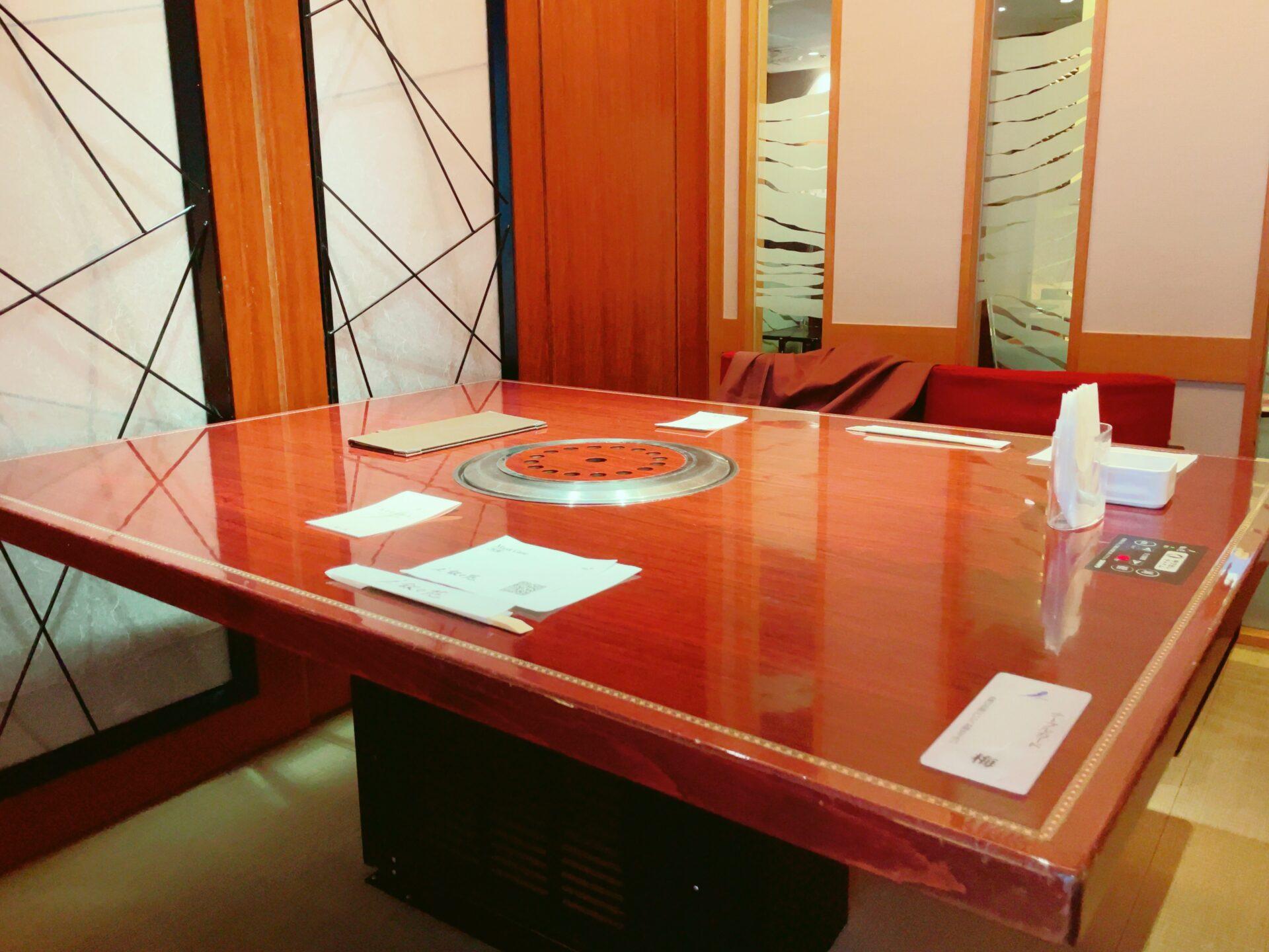 叙々苑 経堂コルティ店の個室