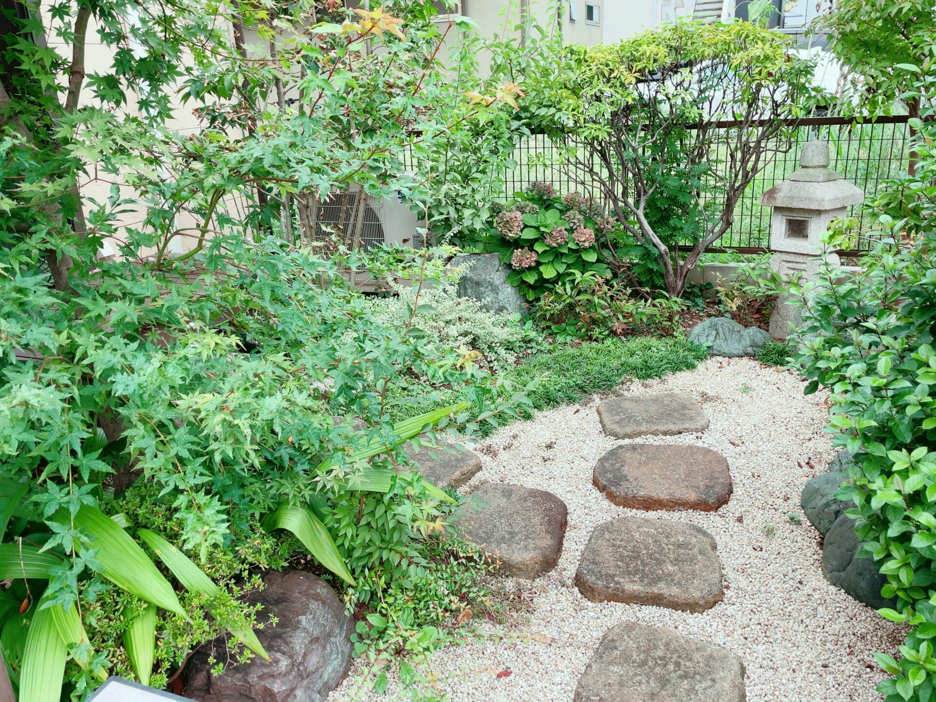 千尋庵の日本庭園