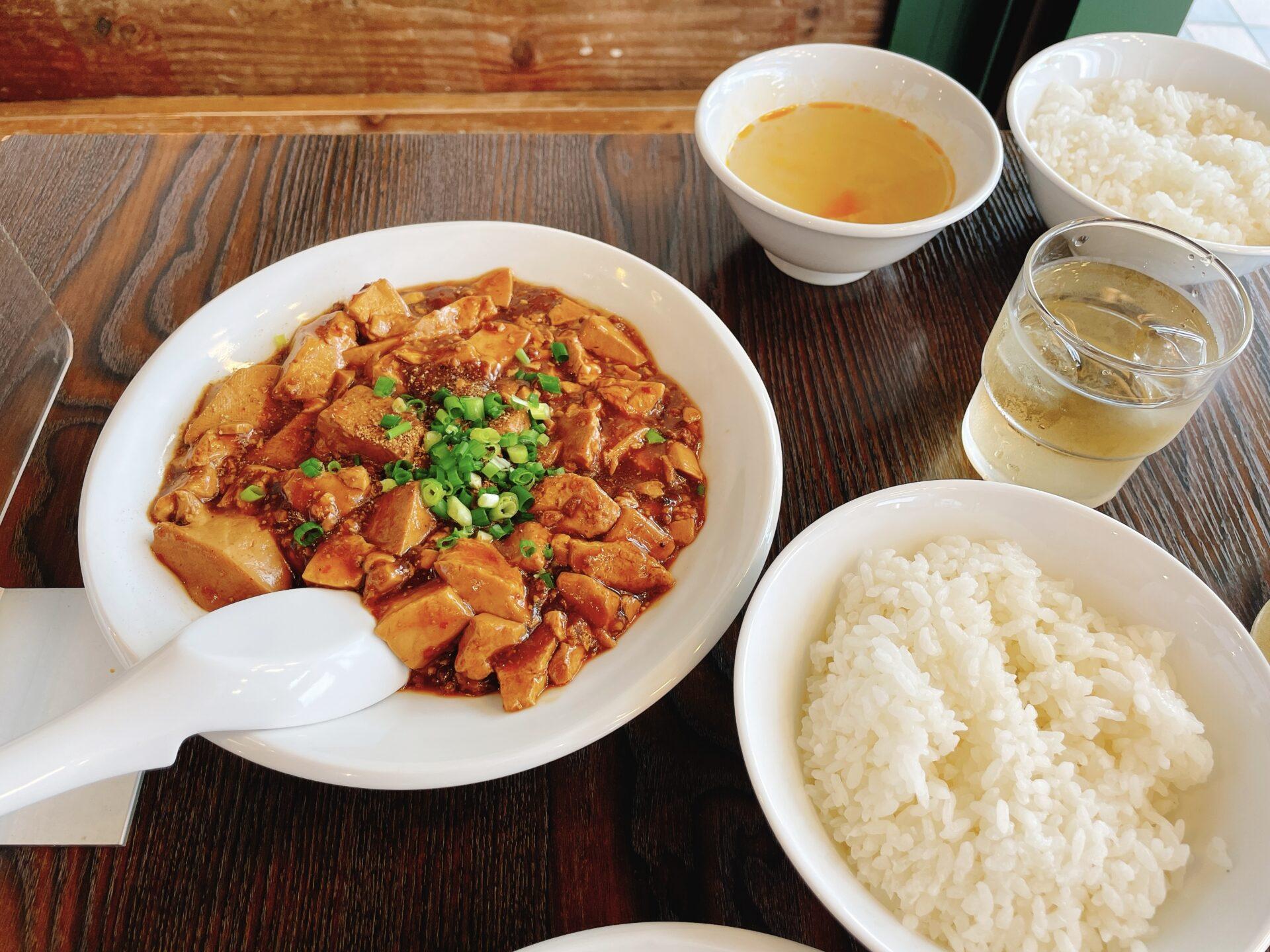 シャンウェイ本店は代々木(北参道)の麻婆豆腐
