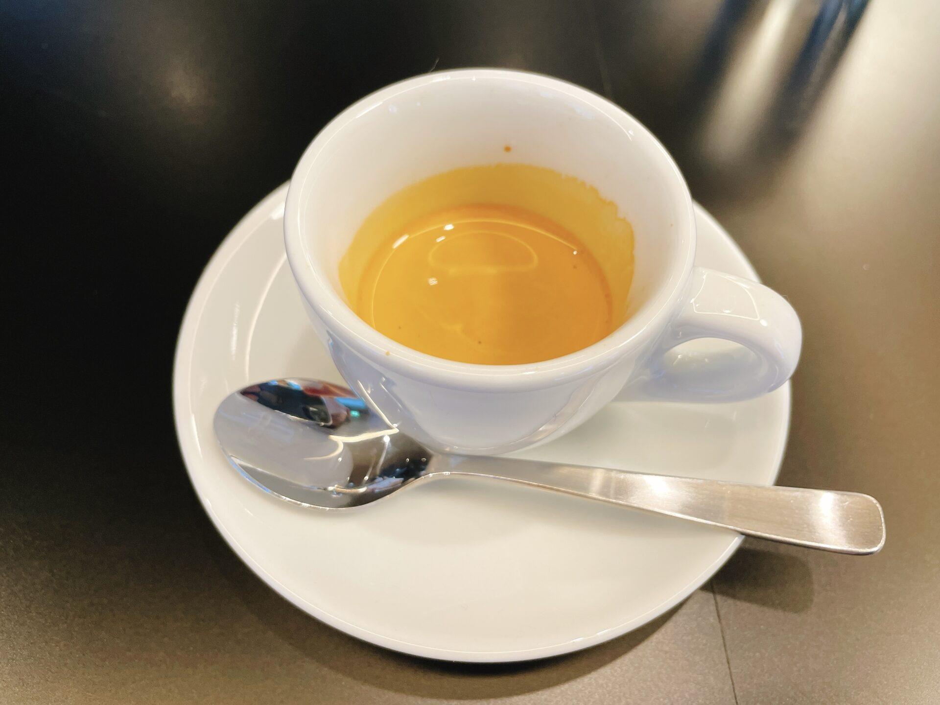 フグレンコーヒー羽根木のエスプレッソ