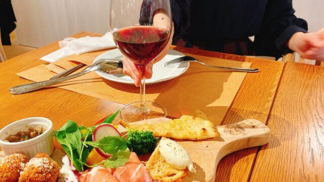 【イータリー銀座店】ちょい飲みに最適!ワインが美味しい